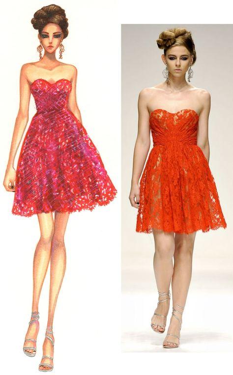 Christina Ngo At Oregon State University With Images Fashion Fashion Design Patterns Fashion Illustration