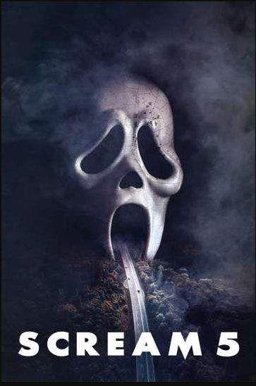 Scream 5 2022 Dir Scream Movie Poster Newest Horror Movies Scream Movie