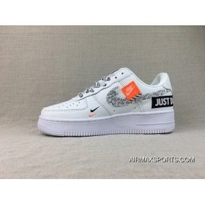 Nike Air Force 1 Just Do It Af1 Collaboration Pure White Ar7719
