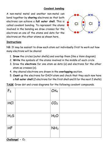 Ionic Bonding Practice Worksheet Along