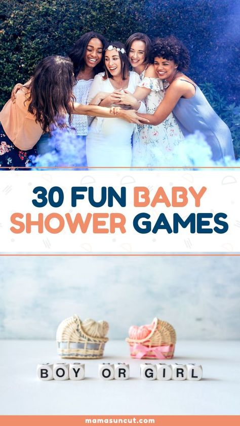 Are you looking for the best baby shower games to throw at your party? Having fun, unique activities will give everyone something to do and a chance to get a little silly as they help celebrate the coming of a little one. Do these games provide entertainment and the best part? They're completely fre