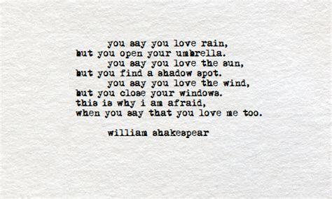 William Shakespeare Love Poems 2