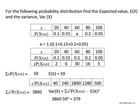 Binomial Distributionppt Math Pinterest Binomial - sample variance