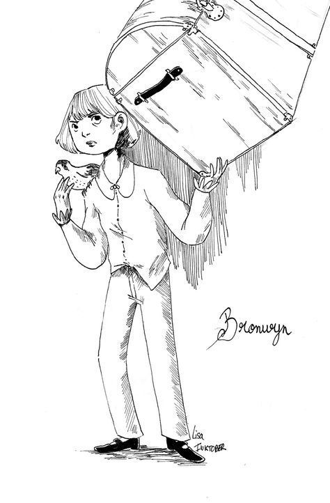 Miss Peregrine's home for peculiar children. Bronwyn