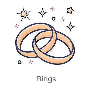 زوج من الخواتم شقة ناقلات خواتم الزفاف الخطبة المرسومة خواتم جوهرة Png والمتجهات للتحميل مجانا Wedding Business Logo Wedding Frames Geometric Wedding Invitation