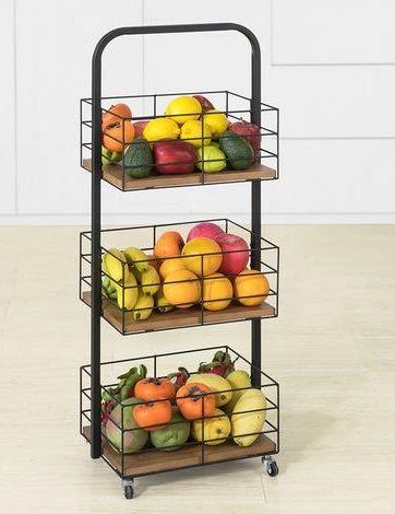 Epingle Sur Rangement Fruits Legumes