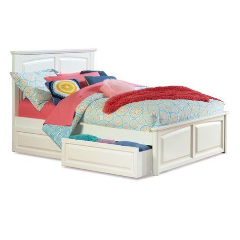 Monterey Platform Bed 1 314 99 Bed Frame With Storage Kids Beds
