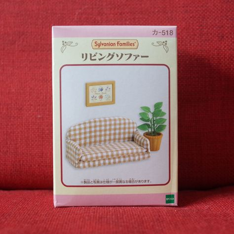 New Sylvanian Families Calico Critters Dolls Living Room Sofa set KA-518 Japan