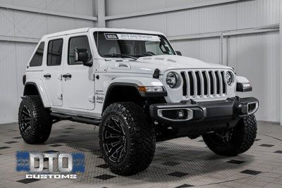 2019 Used Jeep Wrangler Unlimited Unlimited Sahara At Dto Customs Serving Gainesville Jeep Wrangler Unlimited Custom Jeep Wrangler Unlimited Used Jeep Wrangler