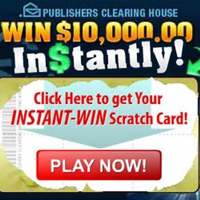 PCH Daily Instant Win Sweepstakes Games | Instant win in