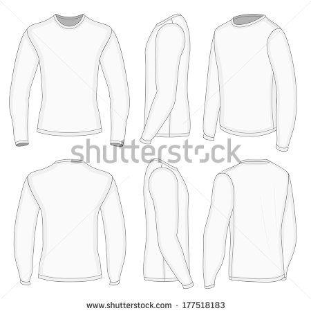 Baju Kaos Lengan Panjang