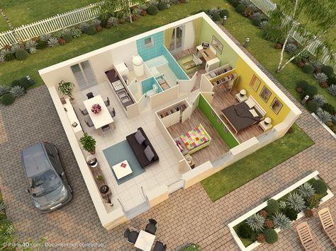 Superbe maison contemporaine à personnaliser, cette Tanzanite offre