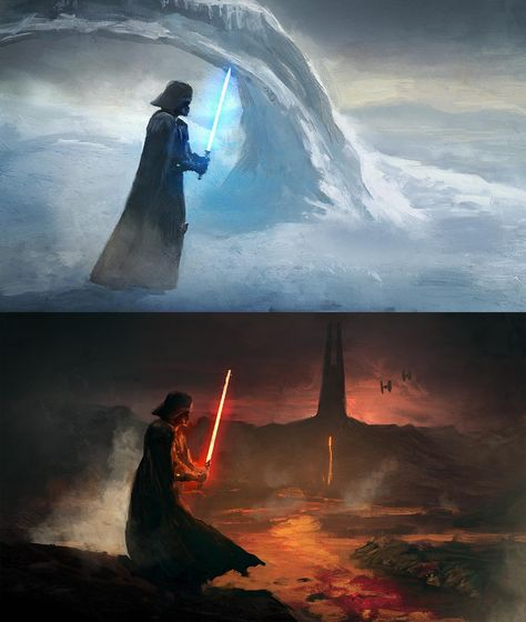 Star Wars is an American epic space opera franchise, created by George Lucas and centered around a film series that began with the eponymous Darth Maul Clone Wars, Anakin Vader, Star Wars Clone Wars, Darth Vader, Anakin Skywalker, Star Trek, Star Wars Concept Art, Star Wars Fan Art, Star Wars Quotes