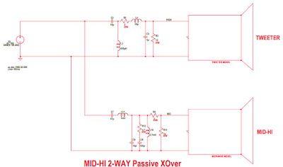 Crossover Speaker Tweeter Wiring Diagram from i.pinimg.com