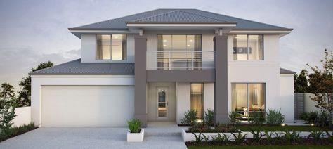 Tahiti 16m Two Storey Expression Range Apg Homes Interiortrimpaint Fassade Haus Architektur Haus Haus Architektur
