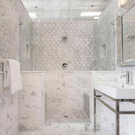 42 Finding Carrera Marble Bathrooms Master Baths Homesuka
