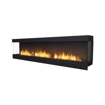 Breakwater Bay Shoalhaven Electric Fireplace Reviews Wayfair