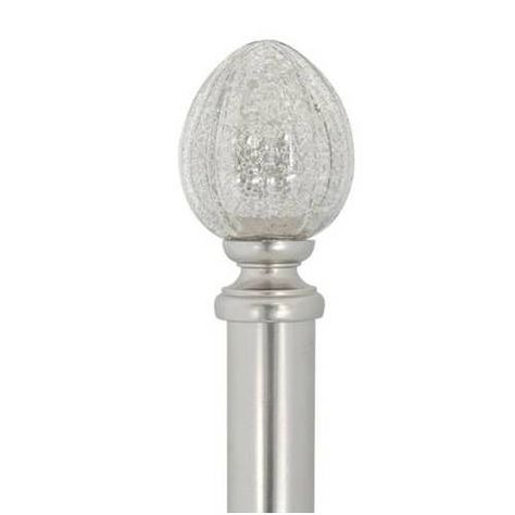 Faux Mercury Glass Finials On Clearance At Lowes 12 24 Glass