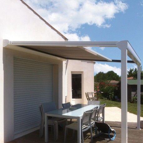 Pergola Toile Enroulable Sur Mesure En Aluminium Pergola Pergola Toile Retractable Terrasse Couverte