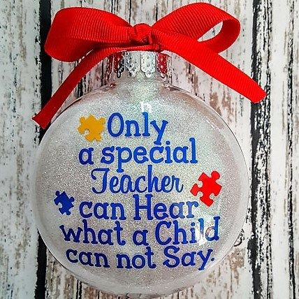 Gifts For Special Education Teachers And Therapists 75 Unique Ideas Teacher Ornaments Teacher Christmas Teacher Christmas Gifts