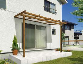 テラス屋根を激安価格で施工販売 無料で自動見積が可能 キロ 2020 テラス屋根 おしゃれ テラス コンクリート基礎