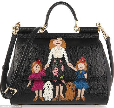 f18b086fd8ec Hideous handbag  The Dolce   Gabbana bag is part of the Viva La Mamma  collection and retai.