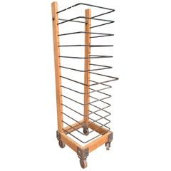 Large French Bakers Rack By Permit Fils Ltd Paris France For