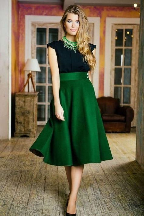 black and green party dress Evening dress with tight waist satin homecoming dress