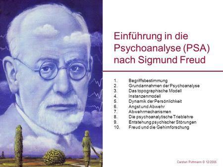 Einführung In Die Psychoanalyse Psa Nach Sigmund Freud