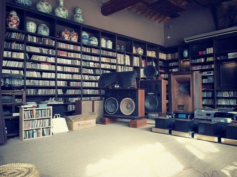 Now that's a listening room.
