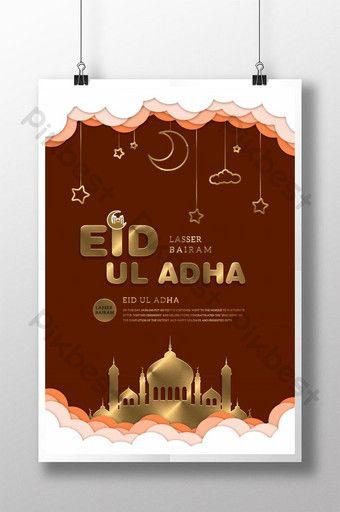 Creative Eid Ul Adha Poster Psd Free Download Pikbest Eid Ul Adha Eid Poster Template Design