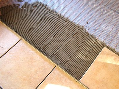 Radiant Floor Heating Systems By
