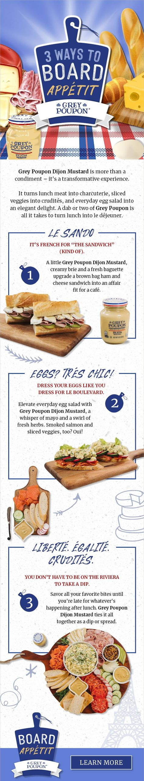 #ad Turn an everyday lunch into a special meal you can savor with Grey Poupon! Sponsored by Grey Poupon