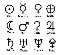 39++ Planet glyphs ideas