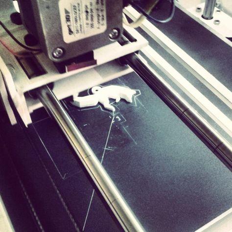 Something we liked from Instagram! Drukuje lisa! #3dprinter by olgutasznik check us out: http://bit.ly/1KyLetq