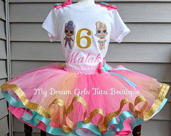 LOL Kitty Queen Doll Tutu Set Birthday Set Personalized