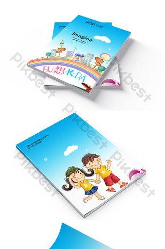 Children S Book Cover Design Pikbest Templates Book Cover Design Book Cover Design Template Brochure Cover Design
