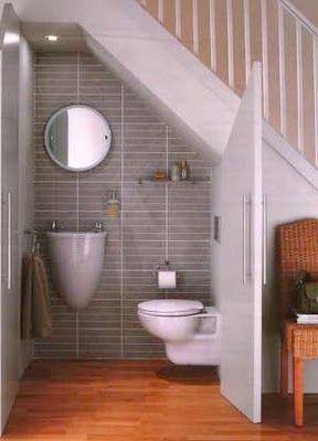 29 under stairs ensuite ideas   bathroom design, small