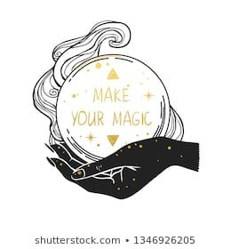 Female Hand Holding Magic Crystal Ball Vector Hand Drawn Illustration With Place For Text Crystal Ball Tattoo Crystal Illustration Crystal Ball