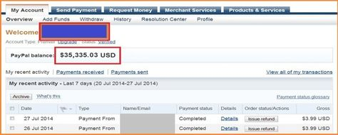 How To Get Money In Your Paypal Account Fast