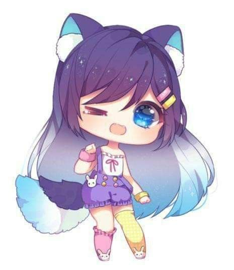 Pin By Hayat Bleddie On Little Kitty Girl Chibi Anime Kawaii Cute Anime Chibi Chibi Drawings Kawaii