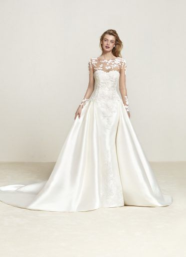 Pronovias Draline Elizabeth Johns Wedding Dresses Pronovias