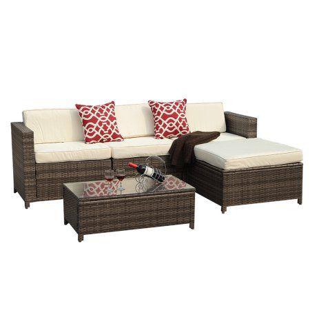 Patio Garden Outdoor Wicker Furniture Outdoor Sectional Furniture Sectional Furniture
