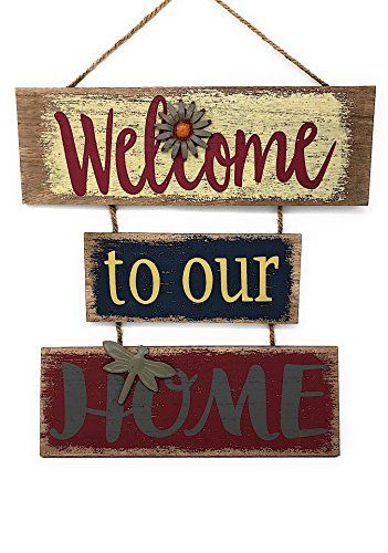 Welcome Home Sign For Wall Front Door Decor Indoor Outdoor 16 X 21 Buyitmarketplace Com Welcome Signs Front Door Front Door Decor Welcome Home Signs