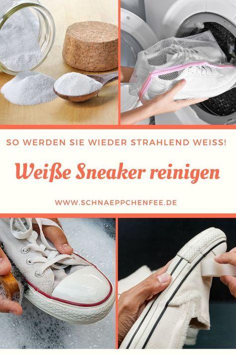 Weiße Sneaker reinigen: Einfache Tipps zum Saubermachen