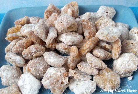 Cheesecake Muddy Buddies/Puppy Chow