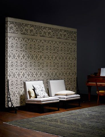 Arden A Range Of Beautiful Fabric And Wallpaper Designs Based On Elizabethan Wall Paintings Interior Interior Design Creative Home Decor