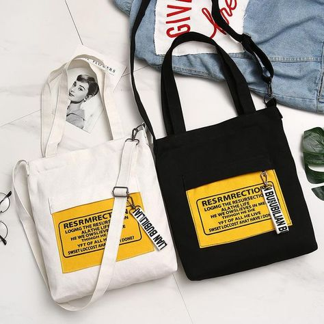 Casual Environmental Canvas Zipper Shoulder Bag,  #Bag #Canvas #casual #Environmental #Should...