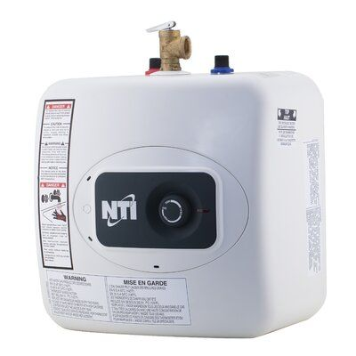 Nti Tank 4 Gallon Electric Point Of Use Water Heater Tankless Water Heater Gas Electric Water Heater