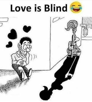 Love Is Blind Popular America S Best Pics And Videos On The Site Https Americasbestpics Com In 2020 Funny Cartoons Crazy Funny Memes Fun Quotes Funny